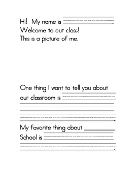 Welcome To Our Classroom - FREEBIE