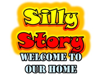 Welcome To Our Home: Listening Dictation & Silly Story (Family & Verb+ing)