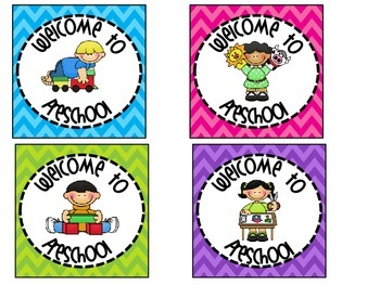 Welcome To School Tags for Treat Bags