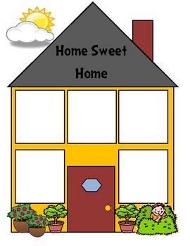 Welcome To School or Homes Theme Classification File Folder Game