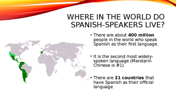Welcome To Spanish! Powerpoint