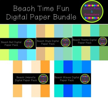 Welcome To The Beach Digital Pack Bundle #SpringBackIn