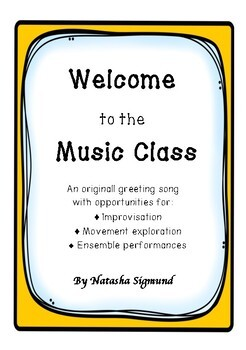 Welcome To The Music Class