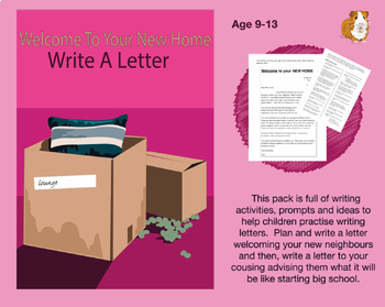 Welcome To Your New Home: Write A Letter (9-13 years)