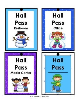 Welcome Winter: Hall Passes
