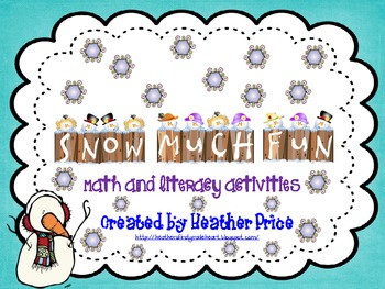 Welcome Winter:  Snow Much Fun