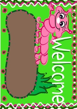 Welcome Worm green