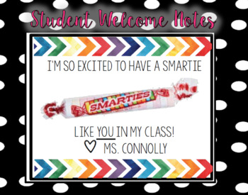 Welcome Your Smarties