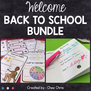 BUNDLE - Welcome back to school: Complete lesson - 7th grade