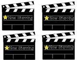 Welcome back to school bulletin board clapboards-small