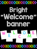 Welcome banner - Bright version!