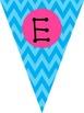 Welcome banner Chevron theme {Freebie!!!}