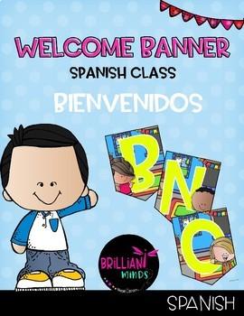 Welcome banner in Spanish / Bienvenidos (Melonheadz2)