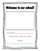 Welcome book: Staff introduction book for students