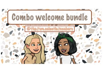 Welcome bundle - combo pack
