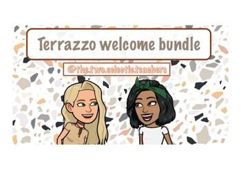 Welcome bundle - terrazzo pack