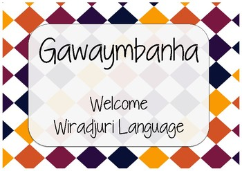 Wiradjuri Worksheets & Teaching Resources | Teachers Pay Teachers