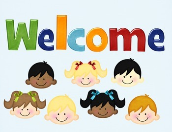 Welcome sign ~ Bright Letters & Kids