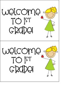 Welcome to  1-3 Grade Postcard