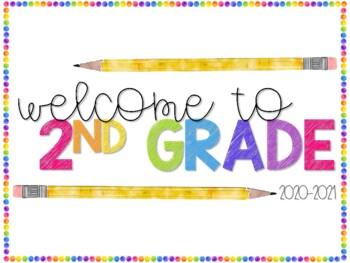 Welcome to 1st Grade Poster
