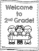 Welcome to 2nd Grade! Activity Book