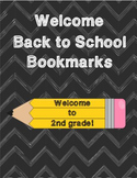 Welcome to 2nd Grade Bookmarks