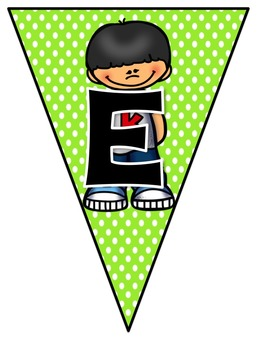 Welcome to 2nd Grade Pennant Sign Rainbow Polka Dot Kid Theme