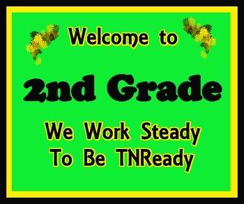 Welcome to 2nd Grade (TNReady)