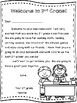 Welcome to 2nd Grade! Teacher Welcome Letter