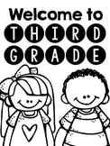 Welcome to 3rd Grade!