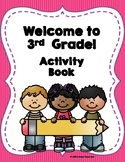 Welcome to 3rd Grade! Activity Book
