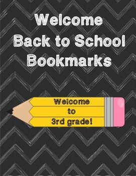 Welcome to 3rd Grade Bookmarks