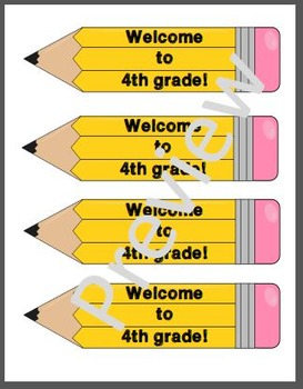 Welcome to 4th Grade Bookmarks