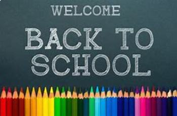 Welcome to 4th Grade, First Day of School