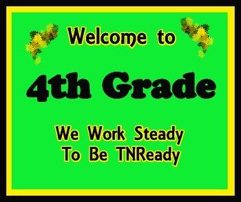 Welcome to 4th Grade (TNReady)