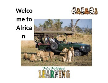 Welcome to African Safari Sign