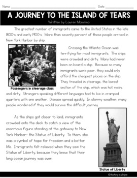 Immigration: Literacy Resources to Teach About Immigration and Ellis Island