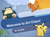 Welcome to Art Class Pokemon Theme