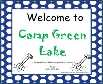 Welcome to Camp Green Lake - A Novel Study Bundle for HOLES by Louis Sachar