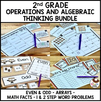 Welcome to Camp OA Math Bundle (56 pages)