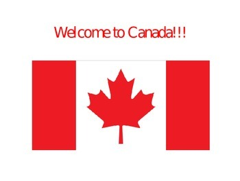 Welcome to Canada