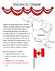 Welcome to Canada ~FREEBIE