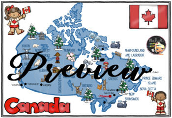 Canada - Flapbook and Map