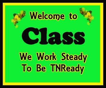Welcome to Class (TNReady)