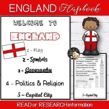 Welcome to England Flapbook