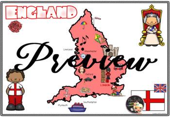 England Flapbook