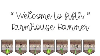 Welcome to Fifth Farmhouse Banner