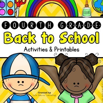 Back to School: 4th Grade Back to School Activities