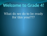 Welcome to Grade 4 Powerpoint!