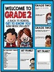 """Welcome to Grade Two: Back to School """"All About Me"""" Mini Book Project"""